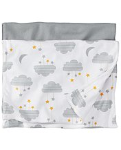 Burp Cloth Set In Organic Cotton