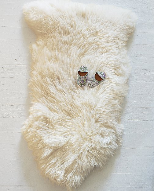 Lambskin Throw Rug by Hanna Andersson