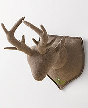 Nordic Reindeer Wall Trophy by Hanna Andersson