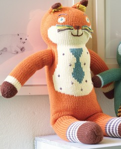 Sweaterknit Lovies—Fox