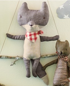 Handmade Scandi Friends—Wolf by Hanna Andersson
