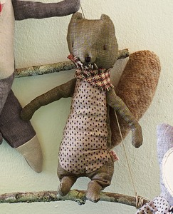 Handmade Scandi Friends—Squirrel