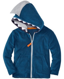 Open Wide Hoodie In Sunsoft Terry