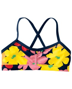 Crossback Swim Top
