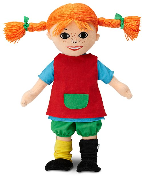Pippi Longstocking Doll by Hanna Andersson