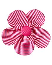 Flower Bow Clip