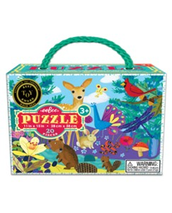 Nature Floor Puzzle in Carrying Case