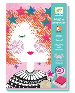 Making Faces Stamp Set By Djeco