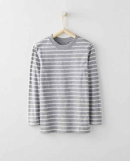 Bright Kids Basics Layering Tee In Pima Cotton by Hanna Andersson