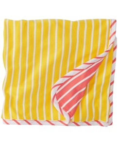 Reversible Stroller Blanket In Organic Cotton by Hanna Andersson