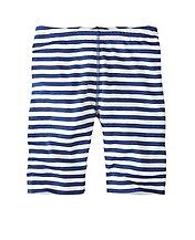 Girls Stripey Bike Shorts by Hanna Andersson