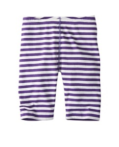 Girls Stripey Bike Shorts by Hanna Andersson