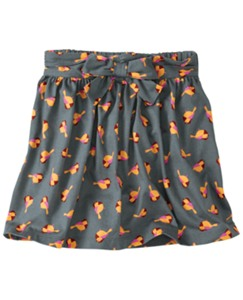 Birdsong Bow Skirt