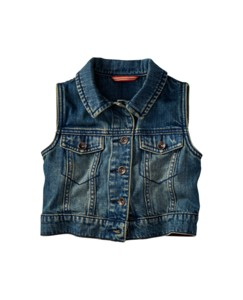 Superwashed Jean Vest