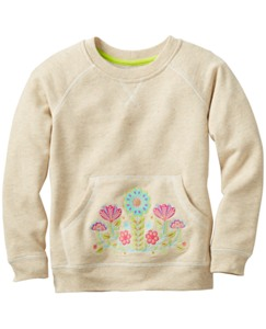 Embroidered Sweatshirt by Hanna Andersson