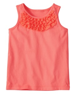 Ruffle It Up Tank by Hanna Andersson
