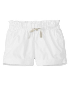 Paper Bag Waist Shorts by Hanna Andersson