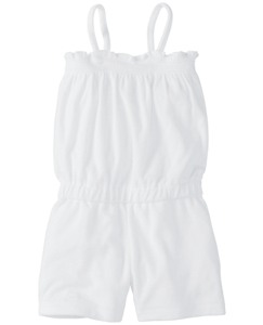 Sunsoft Terry Smocked Romper
