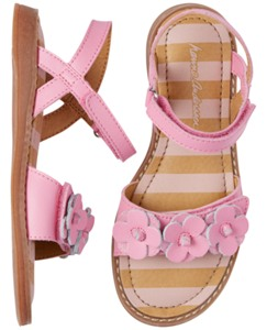 Justina Leather Sandal By Hanna