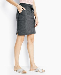 Straight Skirt In French Terry by Hanna Andersson