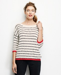 Euro Stripe Sweater
