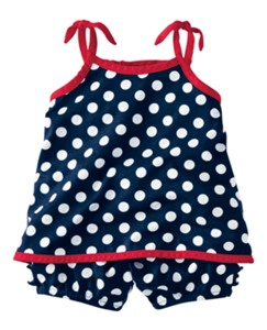 Sailaway Sundress Set by Hanna Andersson
