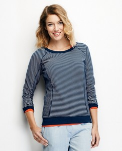 Raglan Sweatshirt In French Terry