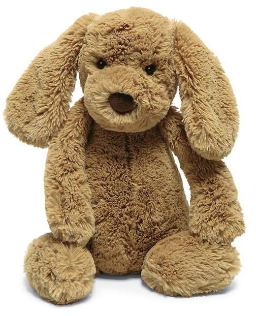Medium Bashful Puppy By Jellycat