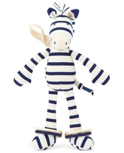 Zoot Zebra By Jellycat