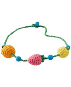 Cotton Crochet Necklace