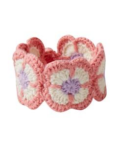 Crochet Flower Bracelet by Hanna Andersson