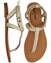Braided Sandal By Minnetonka