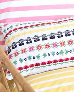 Broderi Ribbon Pillow