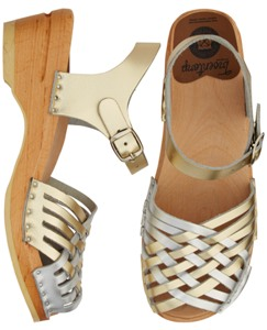 Swedish Sandal Clog By Hanna