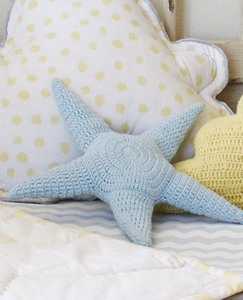 Handknit Star Pillow by Hanna Andersson