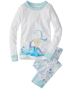 Disney Frozen Long John Pajamas In Organic Cotton by Hanna Andersson
