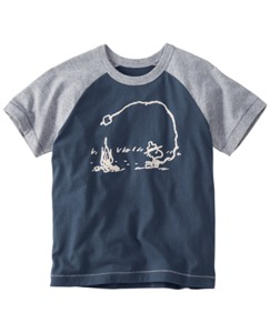 Peanuts Flocked Art Tee by Hanna Andersson