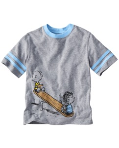 Peanuts Sport Art Tee by Hanna Andersson