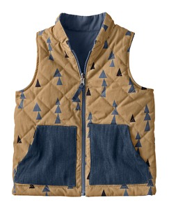 Victory Reversible Quilted Vest by Hanna Andersson