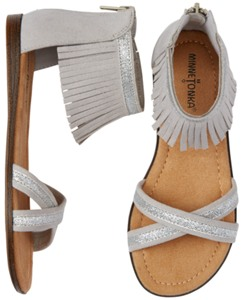 Fringe Sandals by Minnetonka