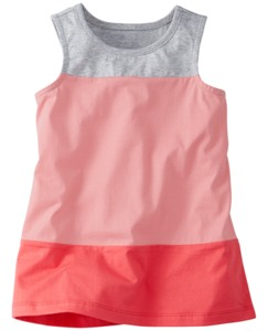 Colorblocked Sleeveless Top