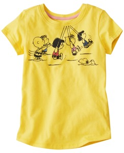 Peanuts Art Tee by Hanna Andersson
