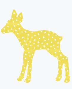 Vintage Fawn Wallpaper Decal by Hanna Andersson