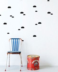 Clouds Wall Decals by Hanna Andersson