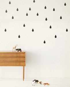 Drops Wall Decals by Hanna Andersson