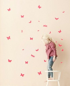 Butterflies Wall Decals by Hanna Andersson