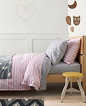 HannaSoft™ Waves Duvet Cover by Hanna Andersson