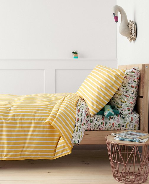 HannaSoft™ Swedish Stripe Duvet Cover by Hanna Andersson