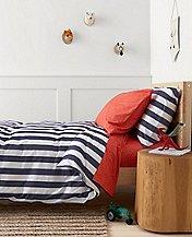 HannaSoft™ Swedish Stripe Duvet Cover by Hanna Andersson