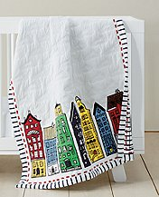 Reversible Port Town Quilt by Hanna Andersson